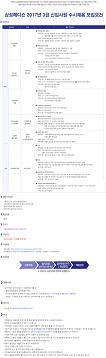 2017 삼성메디슨 3급 신입사원 수시채용(~8.28)