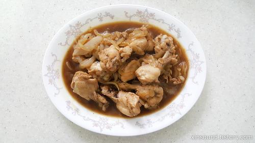 굴소스를 이용한 닭봉간장조림 만들기!