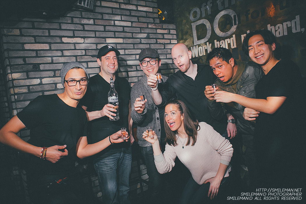 150110 KOnnEX Vol.8! Korean & Expat DJ Night feat. Jay Claytor! @ DOJO Lounge