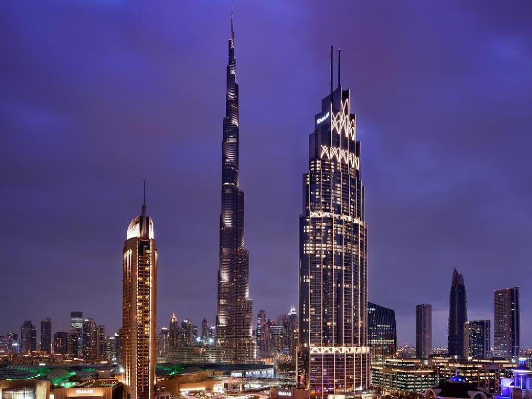 [호텔] 다운타운 두바이에서 두번째로 높은 건물이자 독특한 컨셉의 식당이 인상적인 호텔 어드레스 불바르