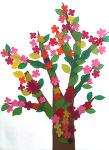 봄 꽃나무 꾸미기