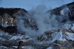 북해도여행- 노보리베츠 온천 이용법, 지옥계곡(地獄谷, Noboribetsu JIGOKUDANI)