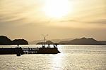 일몰이 아름다운 작은 섬마을, 진해 우도 소쿠리섬