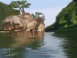 소남이섬 카누 체험
