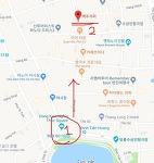하노이 맥주거리 자유여행명소 타히엔 여행자거리와 호안끼엠호수에서 가까운 곳