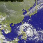 20호 태풍 카눈(Khanun, 卡努) 영향으로 대만 전역 폭우!!