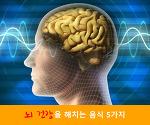 뇌 건강을 해치는 음식 5가지