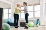 Effectiveness of two year balance training programme on prevention of fall induced injuries in at risk women aged 75-85 living in community: Ossébo randomised controlled trial