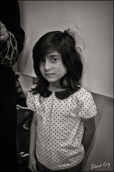 The girl with a sad eyes...