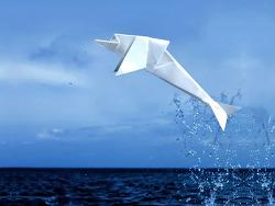 쉬운 돌고래 종이접기 동영상입니다.