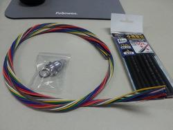 닛산 큐브 블랙박스 멀티부팅 스위치 장착