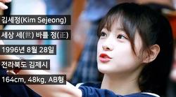 """아이오아이 I.O.I """"김세정"""" 파헤치기"""