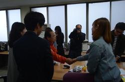 부산 학보사 기자들, 오거돈 만나다