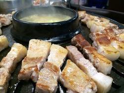 [망원동] 고기자랑 정육식당, 돼지고기 무한리필 만원의 행복!