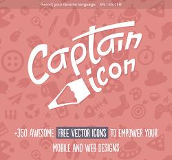 상업용 아이콘 무료 다운로드 사이트 CAPTAIN ICON