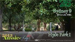 [D+13] Sydney 9 - In & Around HYDE PARK I