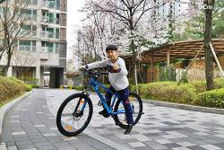 초등학생 고학년의 자전거로 선택한 자이언트 링컨 디스크 2017 - 26인치 MTB
