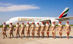 두바이 여행, 에미레이트 항공 탑승기 ( A380 기내식, 수화물 규정 ) A380 좋은 좌석에 앉다!! / 두바이공항 디르함 환전