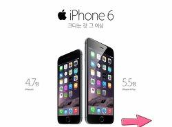 아이폰6 출시!!드디어 한국에 왔다..
