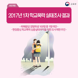 2017년 1차 학교폭력 실태조사 결과