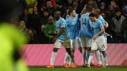 [맨체스터시티]2013/14 잉글리시 FA컵 3라운드 재경기, 맨시티 5 - 0 블랙번