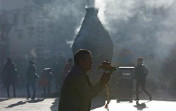 티베트의 부처님 오신 날, 한 달간 착한 일을 하며 지내는 '싸가다와'