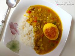 집밥 백선생 '구운달걀 카레덮밥' 만들기. 초간단 달걀요리!