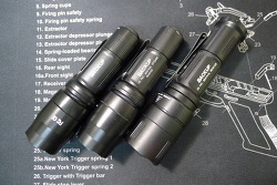 Surefire Backup Flashlight Comparison with E1b and EB1
