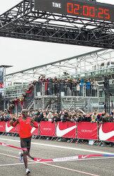 마라톤은 한계를 실험하는 종목 - Nike 'Breaking2'서 케냐 킵초게 2시간00분25초 달성