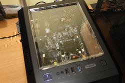 무소음 컴퓨터 Asrock J3160 ITX 디파이 B40 BLACK
