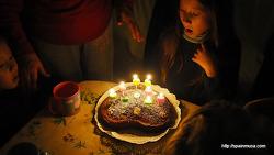스페인 시댁 식구들과 함께한 아이 생일파티