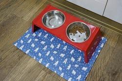 고양이 식기매트 만들기