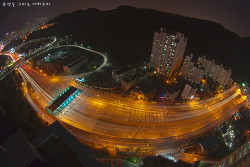 [부산]황령산 터널 야경