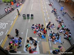 홍콩 바로알기; 홍콩 길거리노숙자 필리핀가정부 '아마'
