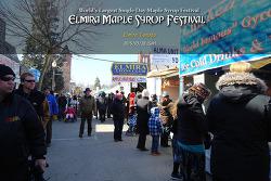 캐나다 엘마이라 메이플 시럽 축제 (Elmira maple syrup festival)