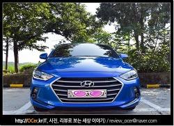아반떼ad 디젤 스마트스페셜 마리나블루 색상 후기 (외형 실내)