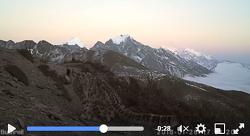 네팔 히말라야에서 멸종위기종 '눈표범'(설표) 영상 포착