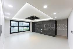 강남구 논현동 블랙앤화이트 컨셉의 40평대아파트인테리어