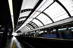 일본에서 전철풍경