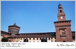 [적묘의 이탈리아]밀라노,스포르체스코성,다빈치와 고양이,Castello Sforzesco