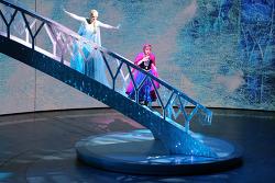 뮤지컬로 만나는 겨울왕국, 캘리포니아어드벤쳐 하이페리온 극장의 '프로즌(Frozen)' 세계최초 공연