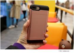 아이폰8플러스 슈피겐 슬림아머 카드케이스