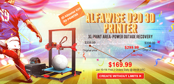 알파와이즈 Alfawise U20 2.8인치 터치스크린 3D프린터 세일