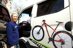 무주 산악자전거(MTB) 문화의 선구자 '산골 자전거'