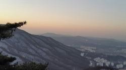 2018년 1월 1일 남한산성 일출