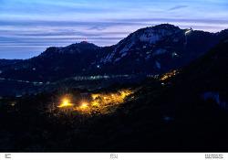 두개의섬 / 인왕산_사진 / 안산 / 서울야경