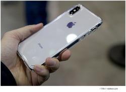 슈피겐 아이폰X 투명케이스 깔끔하게 사용하기