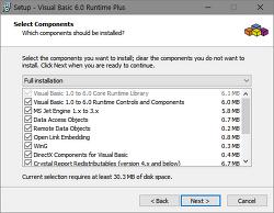 Visual Basic 6.0용 서비스팩 6 런타임