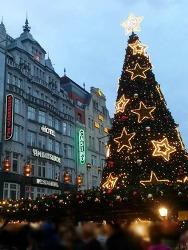 가족이 함께 한 크리스마스 쇼핑