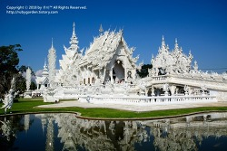 태국 치앙라이 여행 / 감탄이 절로 나오는 치앙라이 백색사원(화이트사원,왓롱쿤)